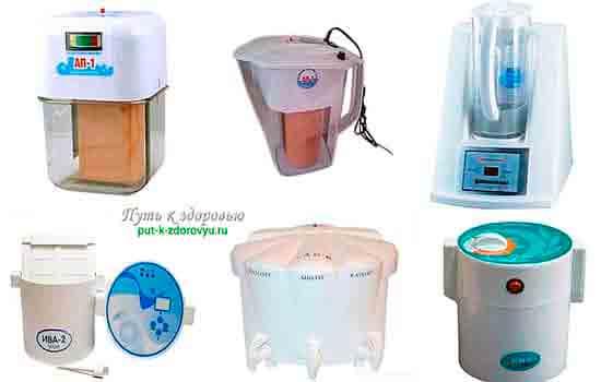 Бытовые электрические активаторы воды