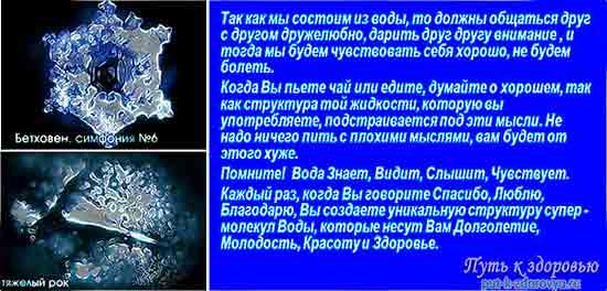Информационная память воды