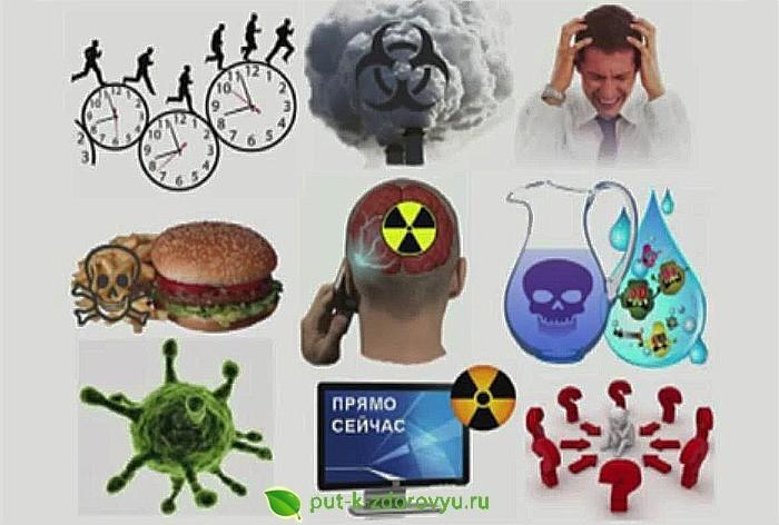 Причины закисления организма