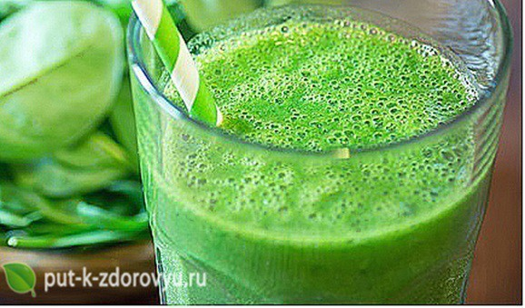 Зелёный смузи