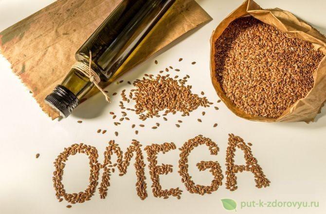 Содержание жирных кислот в льняном масле