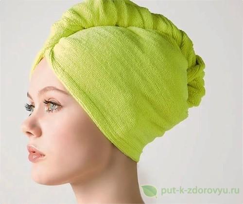 Маска для лечения тусклых и секущихся волос.