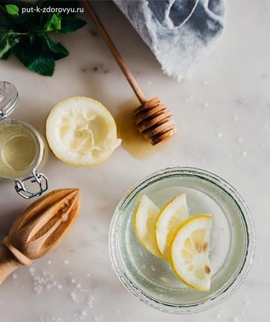 Лимонный водный эликсир