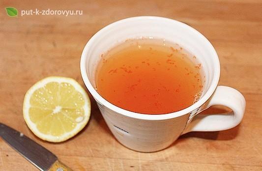 Рецепт лимонной воды с перцем