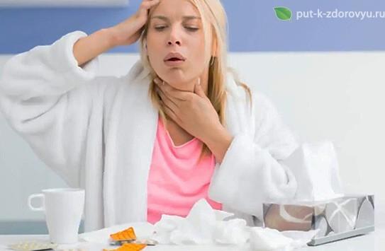 Рецепты с алоэ при заболеваниях горла.