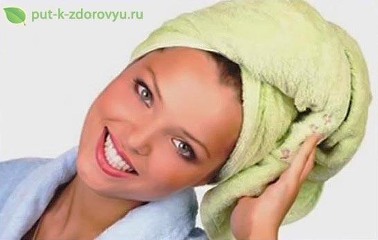 Как защитить волосы от солнышка? Народные средства.