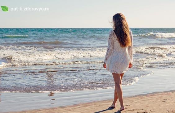 Польза и вред солнца и морской воды для человека.