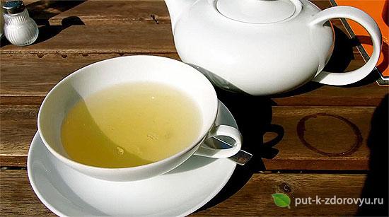 Питьевой чайс расторопшей.