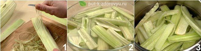 Рецепты расторопши. Используем листья и стебли расторопши.