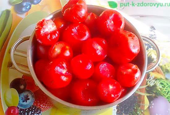 Как приготовить томатный сок с мякотью?