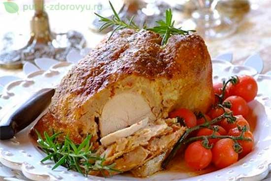 Горячее блюдо из курицы.Рецепт с говядиной.