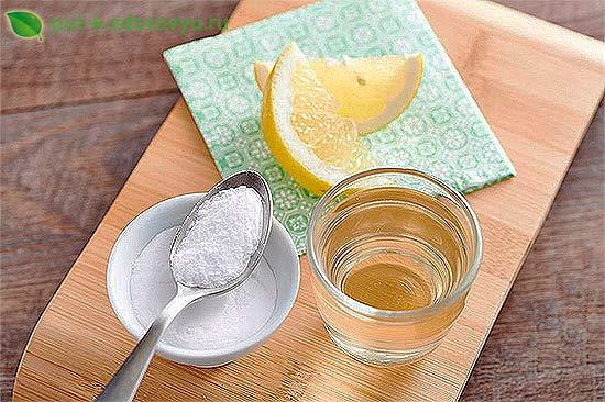 Сода для кожи.Лимонная маска с содой.