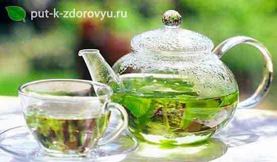 Мятный чай.