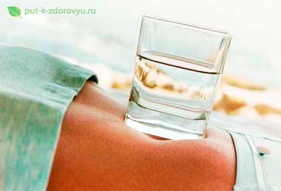 Польза для организма щелочной воды.