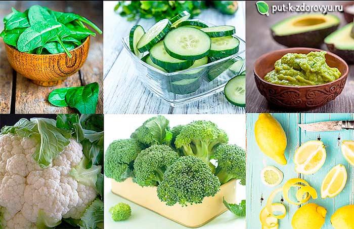 Топ 6 щелочных продуктов