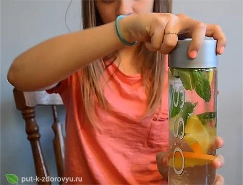 Детокс-вода - токсичный мститель