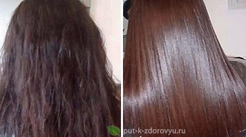 Льняное масло для волос.Разглаживающая и питательная маска для волос.
