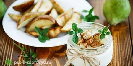 Мюсли с бананом и яблоком. Рецепт приготовления.
