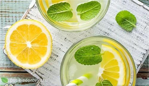 Температура лимонной воды
