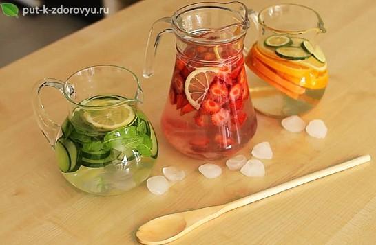 Как сделать вкусную воду для здоровья?