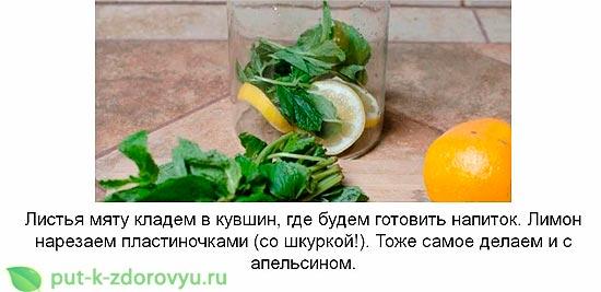 Лимонная вода для похудения. Инструкция по приготовлению-1