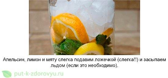 Лимонная вода для похудения. Инструкция по приготовлению-2