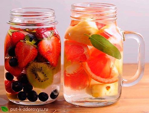 Вода для похудения. Полезные рецепты детокс-воды с фото.