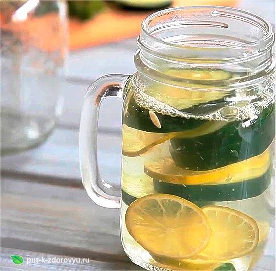 Вода для похудения. Рецепты детокс-воды.