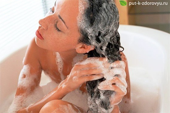 Домашний шампунь с алоэ для волос-3