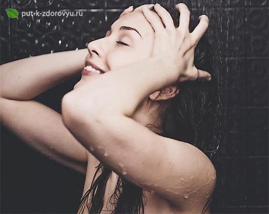 Домашний шампунь с алоэ для волос.