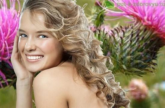 Использование масла расторопши в косметологии.
