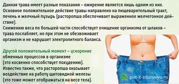 Масло расторопши помогает при похудении-2