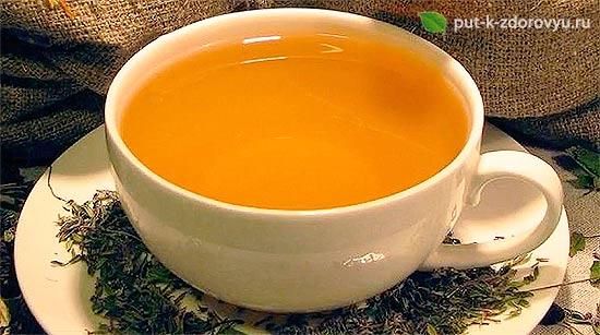 Питьевой чайс расторопшей-2.