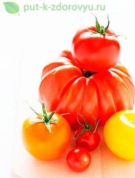 Кисло-сладкий томатный салат.
