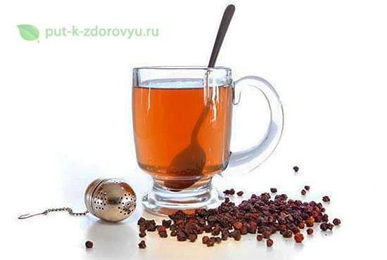 Применение лимонника для чая.