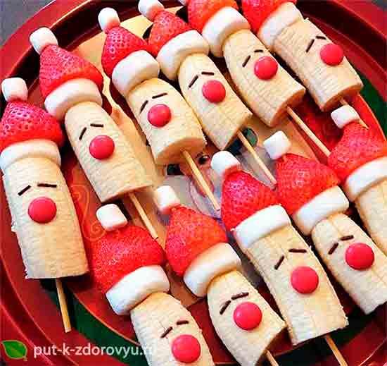 Полезный и яркий десерт для детей.
