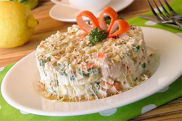 Аватар-Вкусные рецепты с печенью трески. Салаты.