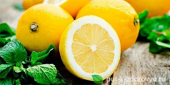Сода для волос.Маска с лимоном.