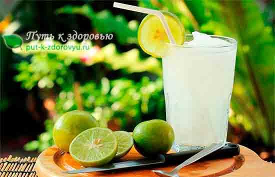 Лимонный сок от простуды.