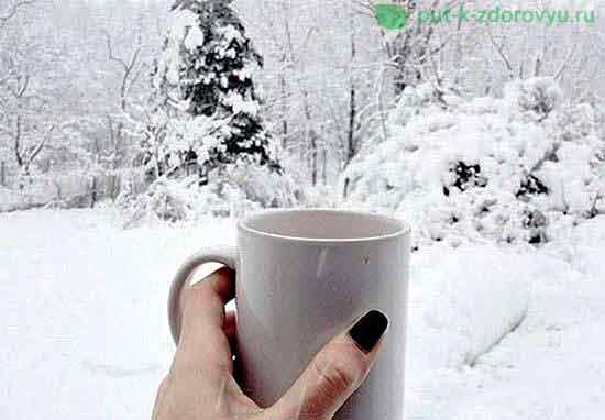 Как и что есть зимой?