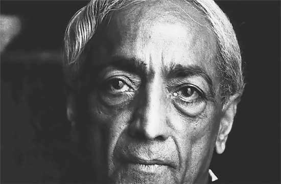 Джидду Кришнамурти.